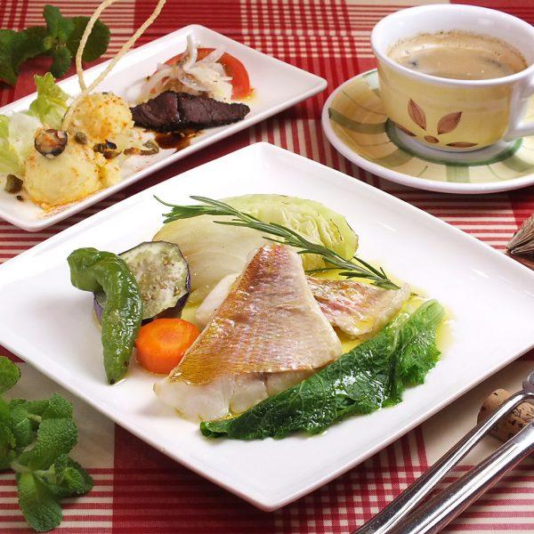 お魚セット(コーヒー付)